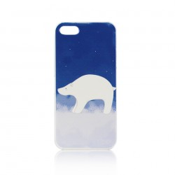 Cute Polar Bear Pattern Phone Case