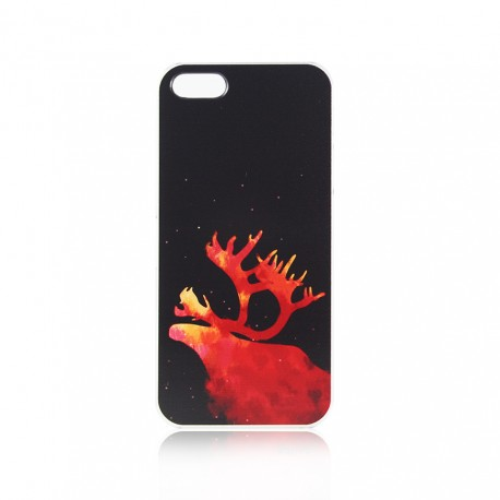 Cute Elk Pattern Phone Case