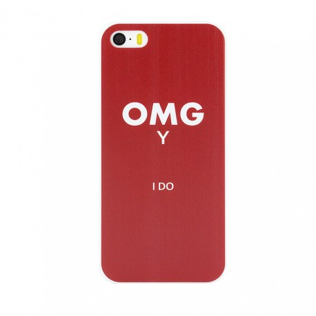 Cool Words Pattern Phone Case OMG Yes I Do