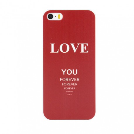 Cool Words Pattern Phone Case Love You Forever