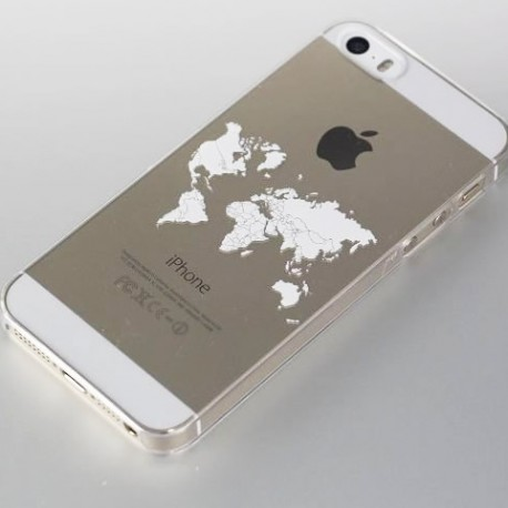 Cool World Map Art Design Phone Case For iphone